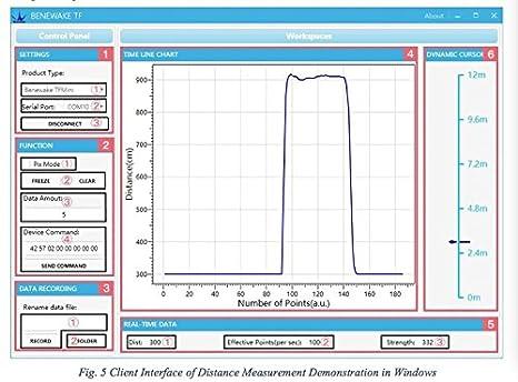 Lidar Range Finder Sensor Module Single-Point Micro Ranging Module for  Arduino Pixhawk Cable Benewake TFmini Drone 4 5-6V