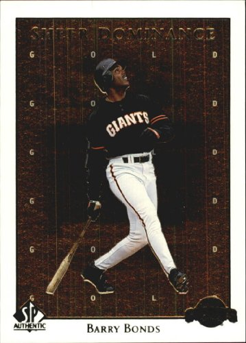 1998 SP Authentic Sheer Dominance Gold #SD20 Barry Bonds Serial - Gold Sheer Bond