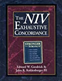 img - for The NIV Exhaustive Concordance ( A Regency Reference Library Book) book / textbook / text book