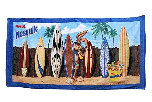 Nesquik Bunny Nestle Collectors 100% Cotton Oversized Beach Towel ()