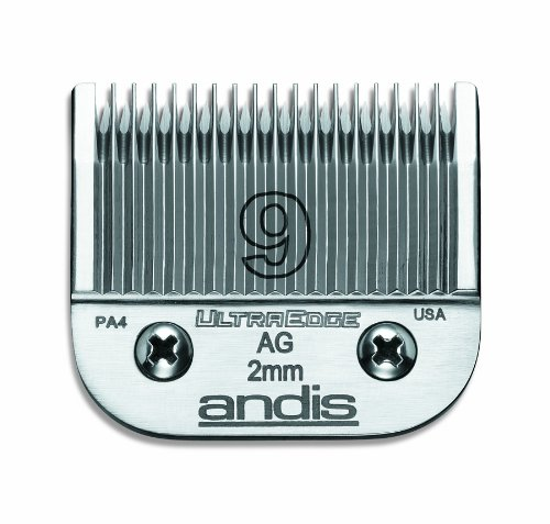 Andis Carbon-Infused Steel UltraEdge Dog Clipper Blade, Size-9, 5/64-Inch Cut Length, My Pet Supplies