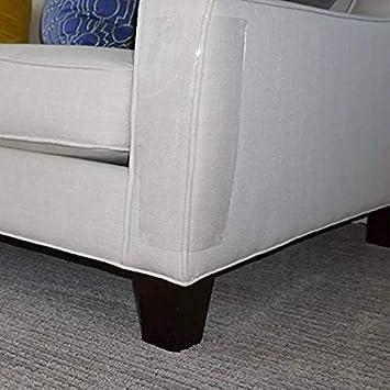 ForuMall 2PCS Pet Scratching Protector Cat Scratch Guard Durable and Flexible Sofa Furniture Scratching Guard for Sofa Door screens