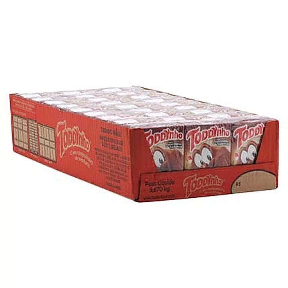 Toddynho - Chocolate Drink - 6.76 Fl Oz (PACK OF 027)   Bebida Sabor Chocolate - 200ml