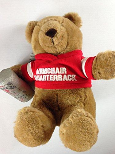 Armchair Quarterback Bear Brew Vintage 1986 Stuffed Emotions Beer Can Football Plush