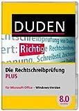 DUDEN Die Rechtschreibprüfung PLUS für Microsoft Office, Korrektor PLUS 8.0