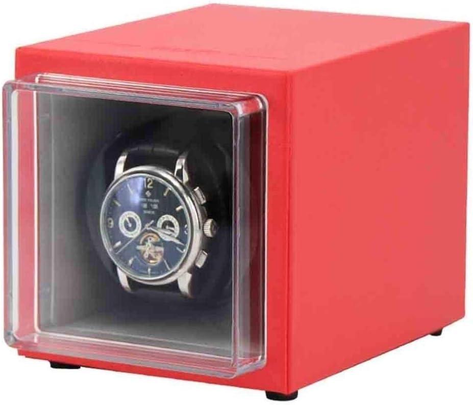 HYCy Agitador de Reloj automático, Reloj mecánico, Almacenamiento en el hogar, Caja de bobinado, agitador, Plato Giratorio, Reloj Individual, Mini Moda