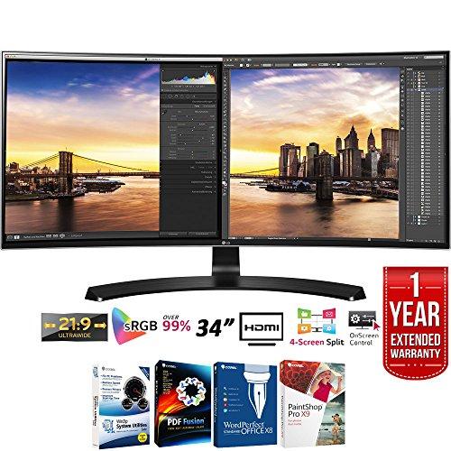 """LG 34UC88-B 34"""" Curved UltraWide WQHD 21:9  IPS LED Monitor"""