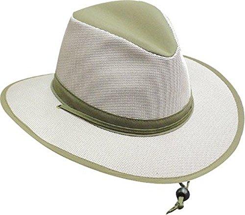 Henschel Ultra Light Aussie Mesh Breezer Hat, Olive, Small