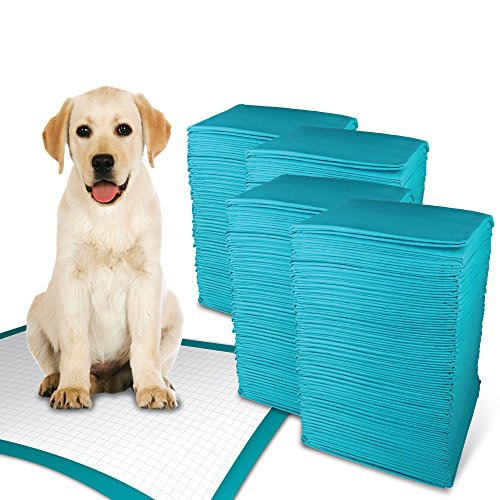 Simple Solution Training Puppy Pads | Extra Large, 6 Layer Dog Pee Pads, Absorbs Up to 7 Cups of Liquid | 28x30 Inches, 200 Count ()