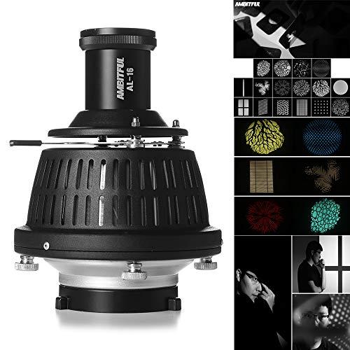 AMBITFUL Bowens Mount Optical Focalize Condenser Beam Light Cylinder Optical Focalize Art Photography Light Cylinder by AMBITFUL (Image #9)