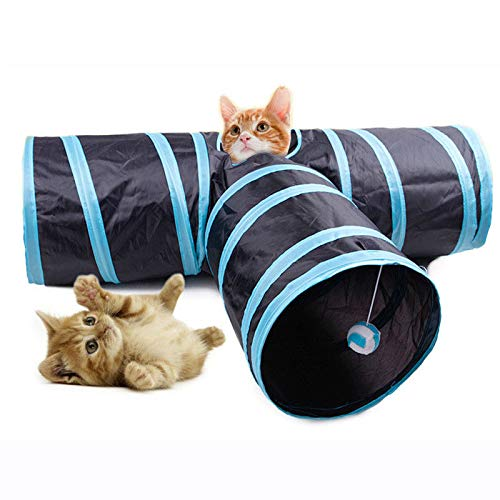 FidgetGear MC-PW1 3 Way Cat Playing Tunnel Creative Pet Cat Floding Decompression Toys
