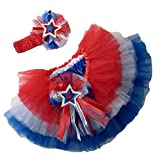 Southern Wrag Company USA 4th of July TIERED Tutu Set Infant thru 6x (5)