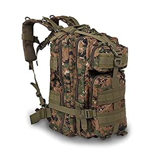 Amazon.com : LEMONBEST Large Outdoor Military Tactical Assault Backpack With Molle Bug Out Bag