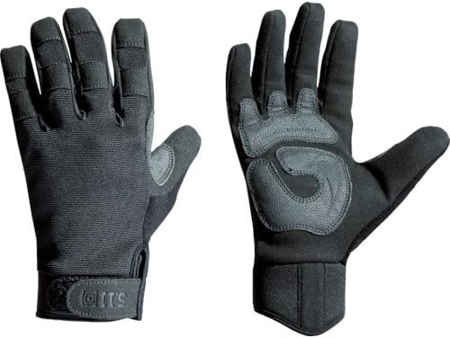 5.11 Tactical Men's TAC A2 Glove, TacticalTouch Precision, Reinforced Pull Tab, Style 59340