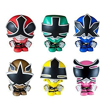 Buy Power Rangers Toy Samurai Mashems Mystery Pack Of 6 Online At