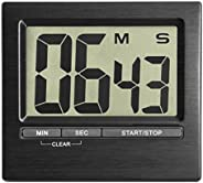 La Crosse Technology 38.2013.01 Digital Countdown Timer and Stopwatch, Black