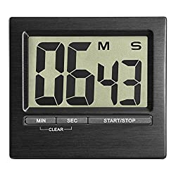 La Crosse Technology 38.2013.01 Digital Countdown Timer & Stopwatch, Black