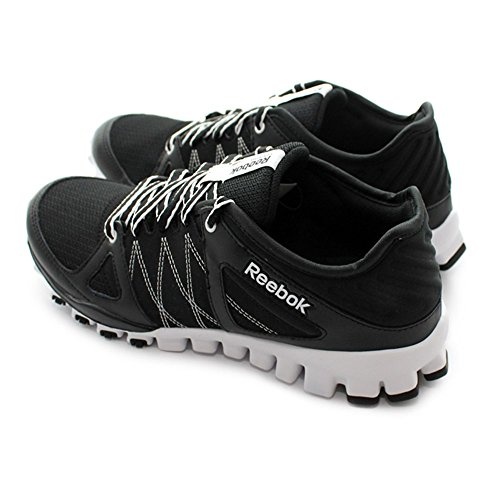 Reebok - Realflex Train RS - Color: Blanco-Negro - Size: 42.0