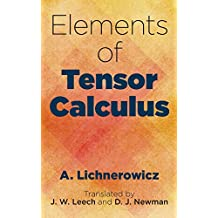 Elements of Tensor Calculus (Dover Books on Mathematics)