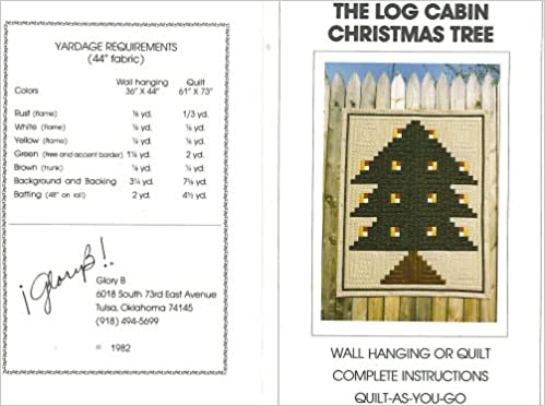 Log Cabin Christmas Tree Quilt.The Log Cabin Christmas Tree Wall Hanging Or Quilt Pattern
