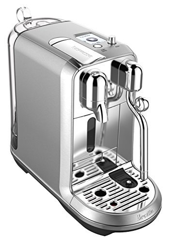 Nespresso Creatista Plus Coffee and Espresso Machine by Breville, Stainless Steel (Renewed)