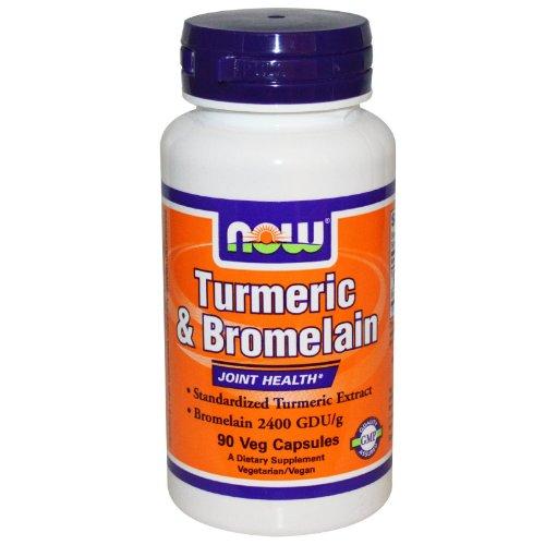 NOW Foods Turmeric Bromelain vcaps