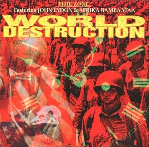 Time Zone John Lydon World Destruction Amazon Com Music