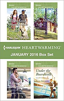 Harlequin Heartwarming January 2016 Box Set: When Love Matters Most\A Boy to Remember\The Missing Twin\Under the Boardwalk by [James, Kate, Thomason, Cynthia, Tracy, Pamela, Denman, Amie]