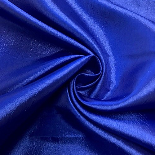 Pappermint Store Royal Blue Extra Wide Nylon Taffeta Fabric 110