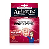 Cheap Airborne Very Berry Effervescent Tablets, 20 count – 1000mg of Vitamin C – Immune Support Supplement