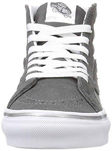 Bay EU 37 Gray Hi Dark Hautes Slim Pewter Metallic Sk8 Femme UA Dots Gris Sneakers True Vans White 4w0UqU