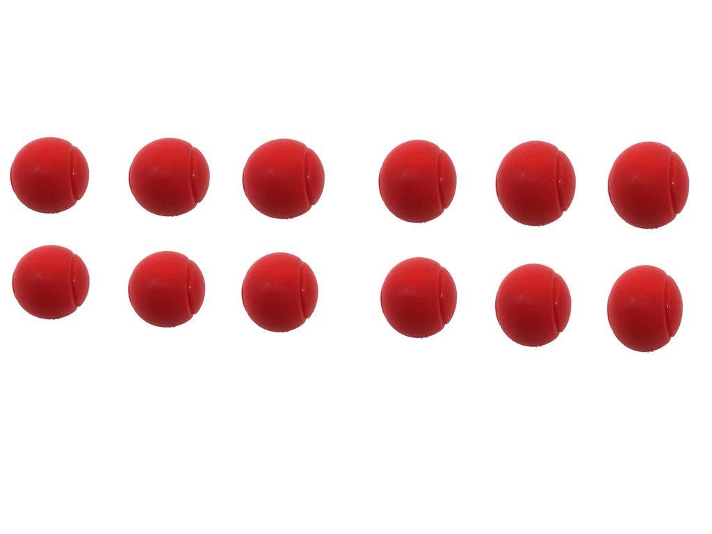 en paquete Pelotas de tenis de espuma suave de 70 mm Pack of 12 Red de E-Deals