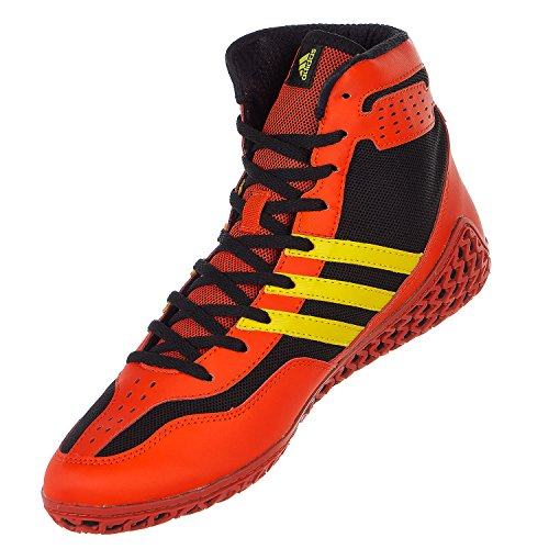 adidas Performance Mens Mat Wizard.3 Wrestling Shoes Energy Red/Yellow/Black z1yHCIrnI