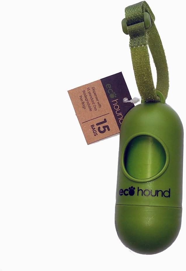 Ecohound - Bolso de Perro Biodegradable con Rollos y dispensador ...