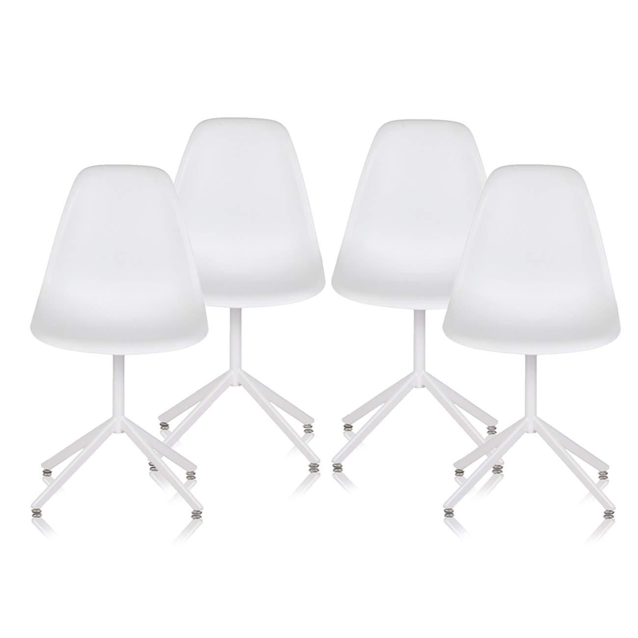 Design Stuhl Retro Stuhl Esszimmerstuhl Sitzgruppe Bürostuhl 4 Set Büro MY SIT