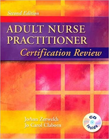 Adult Nurse Practitioner Certification Review, 2e: 9780721682525 ...