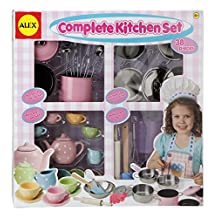 ALEX Toys - Pretend & Play Complete Kitchen Set 606C