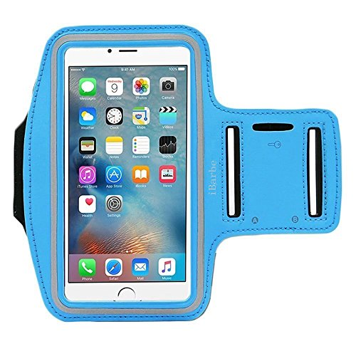 Armband for Apple iPhone 7,7 Plus,6 6s Plus, LG G5,Samsung Galaxy Note 5 4 3 Note Edge S4 S5 S6 LG G3 G4 G5 Note 4 5 Universal case,Great for ()
