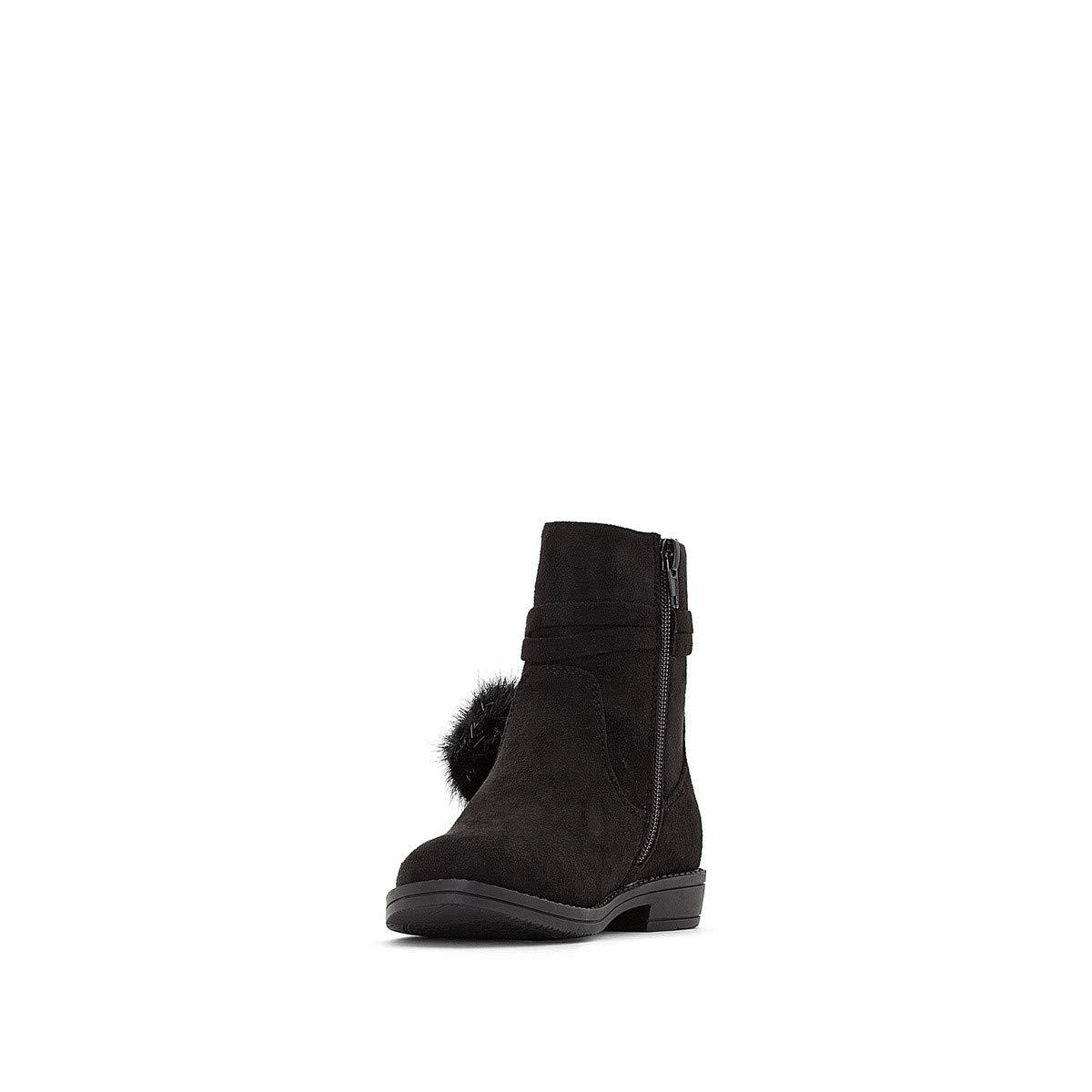 La Redoute Collections Big Girls Pom Pom Trim Boots