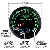 GlowShift 3in1 Analog 1500 F Pyrometer Exhaust
