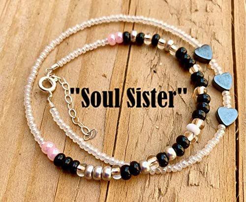 alpha-grp.co.jp Handmade Products Wrap Soul Sister Morse Code Bracelet