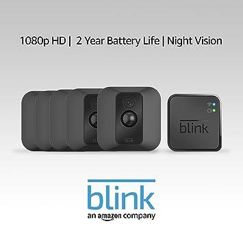 Blink XT Home Security Camera System - 5 Cam Kit - 1st Gen
