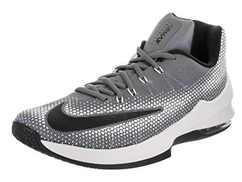 Nike Mens Air Max Fa Infuriare La Scarpa Da Basket Low Coolgrey / Nero / Bianco 8.5 Uomini Us