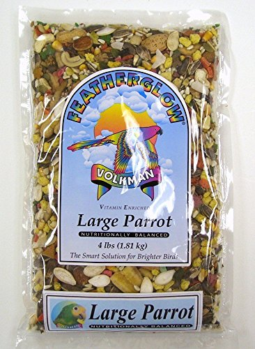 Volkman Seed Featherglow Large Parrot 4lb by Volkman Seed Company Inc