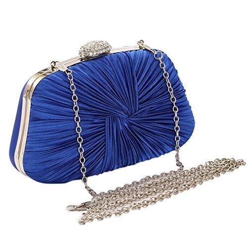 Bleu Pochette femme pour Yiwa Marine SgqY87tw