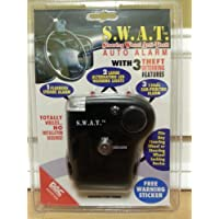 S.W.A.T. Steering Wheel Anti Theft Auto Alarm With 3 Theft Deterring Features