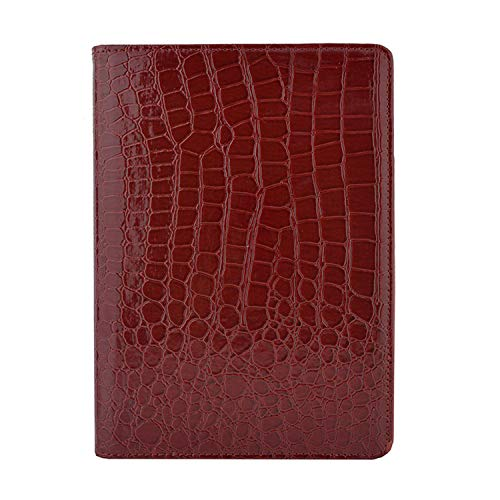 - Tablet Case for iPad Air Air 2 360 Rotation Crocodile Leather Protective Sleeve Rotary Cover Red