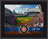 "Houston Astros 10"" x 13"" Sublimated Team Stadium Plaque - MLB Team Plaques and Collages"