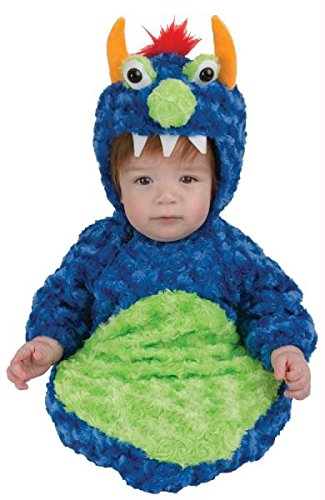 Blue/Green Monster Baby Bunting Halloween Costume
