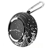 Tronsmart Splash 7W Mini Bocina Bluetooth Portátil, IP67 Impermeable TWS y TF Tarjeta, con Micrófono y Manos Libres, 10 Hora de Emisión Continua-Negro